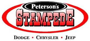 Peterson's Stampede Logo